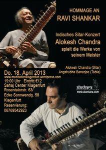 Hommage an Ravi Shankar Klagenfurt
